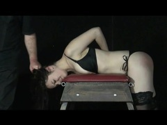 Cute bound girl gets a good flogging movies at freekiloclips.com