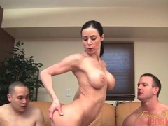 Muscle pornstar takes on two men movies at find-best-babes.com