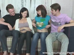 Young sex parties - double sex after a double date movies at kilotop.com