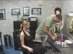 Gorgeous dutch model in dressing room movies at kilotop.com