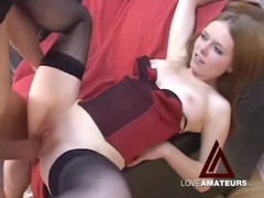 Sexy redhead with perfect tight pussy fucked in pov movies at find-best-videos.com
