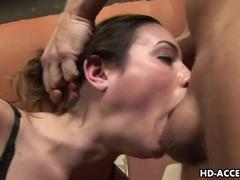 Amber rayne messy deepthroat blowjob scene movies at very-sexy.com