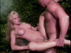 Fucking a fake tits blonde babe in the jungle movies at kilotop.com