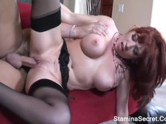 Brittany oconnell - redhead milf nailed roughly and got facial cum 2 movies at find-best-babes.com