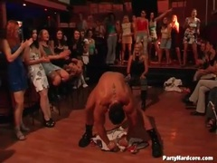 Male stripper teases the ladies at the party videos