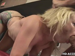 Sexy blonde gives a great blowjob movies at find-best-panties.com