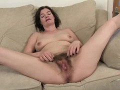 Big untrimmed bush on a dirty mommy movies at find-best-lingerie.com