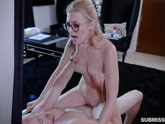 Alexa grace wears glasses for a hard fuck scene videos