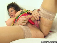 Milf gilly from the uk teases us with her big tits movies at kilopics.net