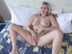 Mature legs spread wide as the beauty masturbates movies at find-best-panties.com
