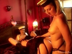 Sexy sailor girls have a threeway with a beauty videos