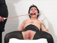 Medical fetish and humiliation of tied asian movies at freekiloclips.com