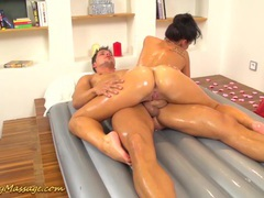 Flexi nuru massage with promesita movies at find-best-pussy.com