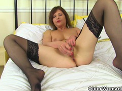 German milf kristine von saar lowers her panties videos
