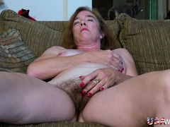 Lots of sexy pubic hair on a masturbating mature slut movies at find-best-lesbians.com