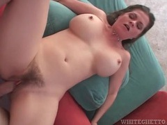 Hairy mom pumped in her gorgeous pussy videos