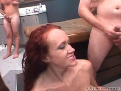 Bukkake mess for a redhead milf slut movies at kilopics.com