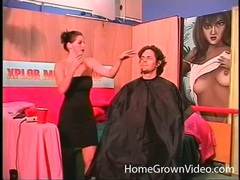 Hairdresser sucks his cock beautifully movies at sgirls.net