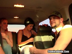 Two slut swallow cum shot on threesomes movies at sgirls.net