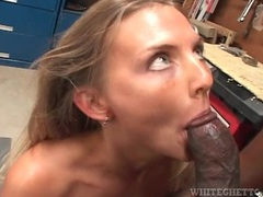 Big black cock blown and boning her from behind movies at find-best-pussy.com