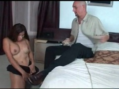Tranny sucks his big cock deep and lustily videos