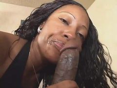 Big fat ass on sexy black girl he pounds tubes