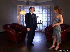 Japanese spy babe gives a hot double blowjobs uncensored tubes at japanese.sgirls.net