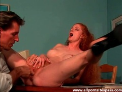 Finger blasting a lovely redheaded milf videos