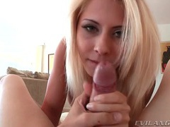 Madison ivy blowjob gets her a hot facial movies at freekiloporn.com