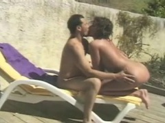 Chick sucks a dick and he eats the pussy outdoors videos