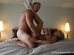 Wifey toys pussy and gets fucked videos