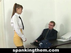 Spanked secretary movies at find-best-mature.com