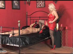 Horny mistress lana rides cock and makes her slave cum movies at freekilosex.com