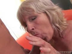 Eating out a sexy mature blonde that blows him movies at find-best-mature.com