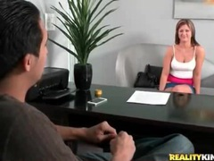 First timer gets her ass measured and masturbates clip