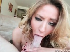 She slobbers all over his heavy balls movies at sgirls.net