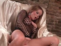 Pornstar silvia saint masturbates in high heels movies at kilotop.com