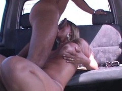Shemale cocksucker takes a load in the car movies at kilotop.com