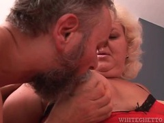 Fat old couple in a hot blowjob video movies at sgirls.net