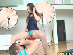 Photographer eats out the hairy pussy of dani daniels movies at find-best-babes.com