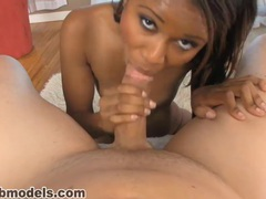 Hot ebony babe gets a big cum facial movies at find-best-babes.com