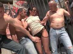 Big titty girl fondled and sucking dick outdoors movies at find-best-babes.com