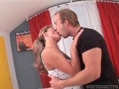 Making out with a pretty girl he goes down on movies at find-best-babes.com