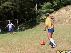 Latina strips off soccer uniform and models big ass movies at find-best-babes.com