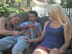 Upskirts and cocksucking outdoors with ladies movies at freekiloporn.com