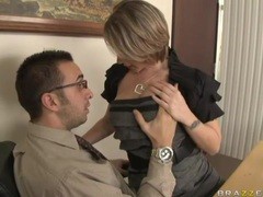 Hairy pussy milf fucked hardcore in office movies at freekilopics.com