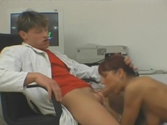 Redhead fucked in shaved pussy by doctor videos