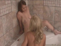 Lesbian love milf and step-daughter videos
