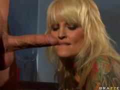 Heavily tattooed pornstar janine lindemulder fucked videos