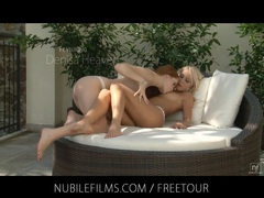 Nubile films - perfect body blonde grace hartley fucks her lesbian lover movies at relaxxx.net